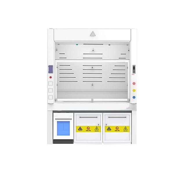VAV新工艺节能合金高压热固树脂板通风柜正面图